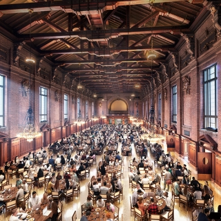 Yale Commons Dining Hall