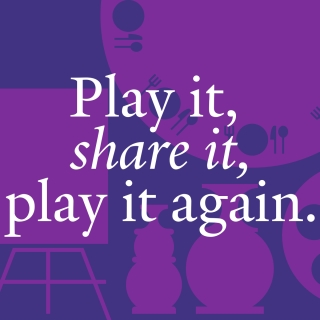 Play it, share it, play it again.