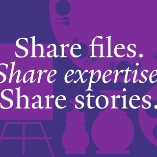 Share files. Share expertise. Share stories.
